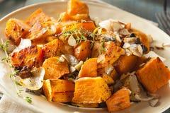 Selbst gemachte gekochte Süßkartoffel Lizenzfreies Stockfoto