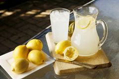 Selbst gemachte Limonade Stockfoto