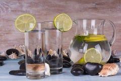 Selbst gemachte Limonade Stockfotos