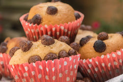 Selbst gemachte Muffins Stockfotografie