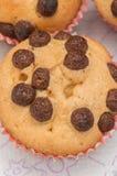 Selbst gemachte Muffins Stockbilder