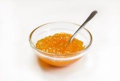 Selbst gemachte Orangenmarmelade oder Marmelade Stockfoto