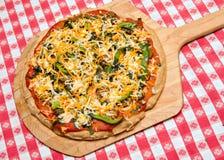 Selbst gemachte Pizza Lizenzfreies Stockbild