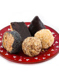 Selbst gemachte Süßigkeiten Stockfotografie