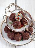 Selbst gemachte Süßigkeiten Stockbild