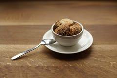 Selbst gemachte Samen des Plätzchenindischen sesams mit einem Teelöffel Lizenzfreies Stockbild
