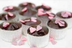 Selbst gemachte Schokolade Stockbilder