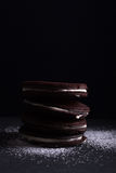 Selbst gemachte Schokoladenplätzchen Lizenzfreie Stockbilder