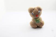 Selbst gemachte Sojabohnensprossen auf lokalisiert lizenzfreies stockfoto