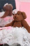 Selbst gemachte Teddybären lizenzfreies stockbild