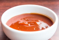 Selbst gemachte Tomatensauce Lizenzfreie Stockfotos