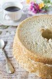 Selbst gemachter Angel Food Cake Stockbilder