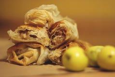 Selbst gemachter Apfelkuchen Lizenzfreie Stockfotografie
