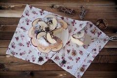 Selbst gemachter Apfelkuchen Lizenzfreies Stockfoto