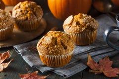 Selbst gemachter Autumn Pumpkin Muffin Lizenzfreie Stockbilder