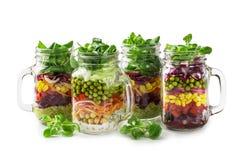 Selbst gemachter Gemüsesalat Lizenzfreie Stockbilder