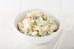 Selbst gemachter Kartoffelsalat Lizenzfreie Stockfotografie