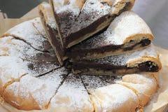 Selbst gemachter Kuchen Stockfotografie