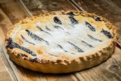 Selbst gemachter organischer Berry Pie Lizenzfreie Stockbilder