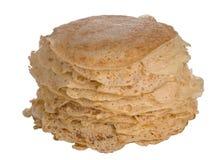Selbst gemachter Pfannkuchenstapel lizenzfreie stockfotografie