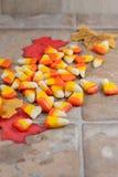 Selbst gemachter Süßigkeits-Mais Stockfotos