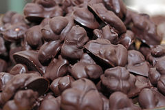 Selbst gemachter Schokoladensnack Stockfotos