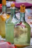 Selbst gemachter Wodka mit Pfeffer Lizenzfreies Stockbild