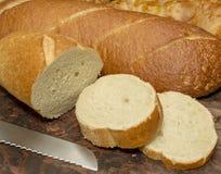 Selbst gemachtes Brot Lizenzfreies Stockbild