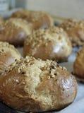Selbst gemachtes Brot mit indischem Sesam Stockfoto