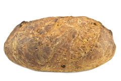 Selbst gemachtes integrales Brot Stockbild