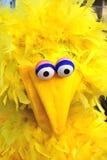 Selbst gemachtes Kostüm, das großem Vogel ähnelt Stockbilder