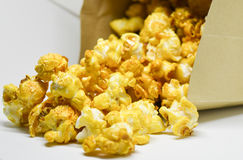 Selbst gemachtes Popcorn Lizenzfreies Stockbild