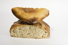 Selbst gemachtes weißes Brot Stockfotografie