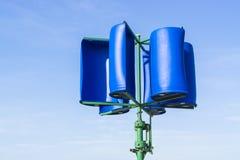 Selbst gemachtes Windturbine Lizenzfreie Stockfotografie