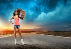 Selbstabschaltenreisen Lizenzfreie Stockfotos