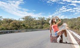 Selbstabschaltenreisen Stockfoto