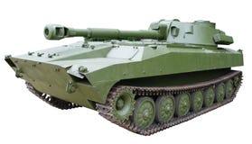 Selbstangetriebene Haubitze der gepanzerten Artillerie Stockbild