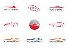 Selbstauto Logo Template Stockbilder