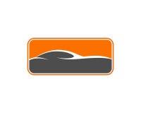 Selbstauto Logo Template Stockbild