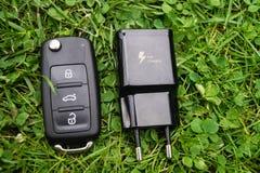 Selbstbewegende elektronische Mobilität lizenzfreies stockbild