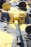 Selbstfahrende Gewehre der Einheit in Position Lizenzfreies Stockbild