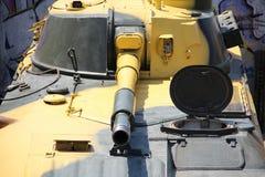 Selbstfahrende Gewehre der Einheit in Position Stockfotos