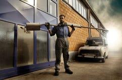 Selbstmechaniker stockfoto