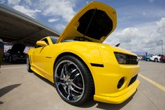 SELBSTmesse: 27. August Chevrolet Camaro Stockbilder