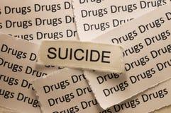 Selbstmord Stockfoto