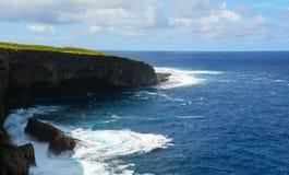 Selbstmord-Klippe (Saipan) Lizenzfreie Stockfotos