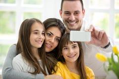Selbstporträt der Familie Lizenzfreie Stockfotos
