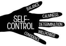 Selbststeuerung stock abbildung
