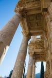 Selcuk, Izmir - die Türkei 25. November 2014 Celsus Bibliothek Die alte Stadt von Ephesus in Selcuk, Izmir - die Türkei Lizenzfreie Stockfotografie