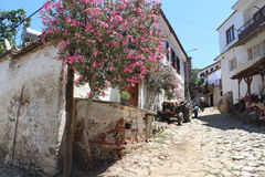 Sirince village in Selcuk, Turkey Royalty Free Stock Images